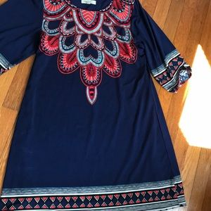 3/4 sleeve Fall dress